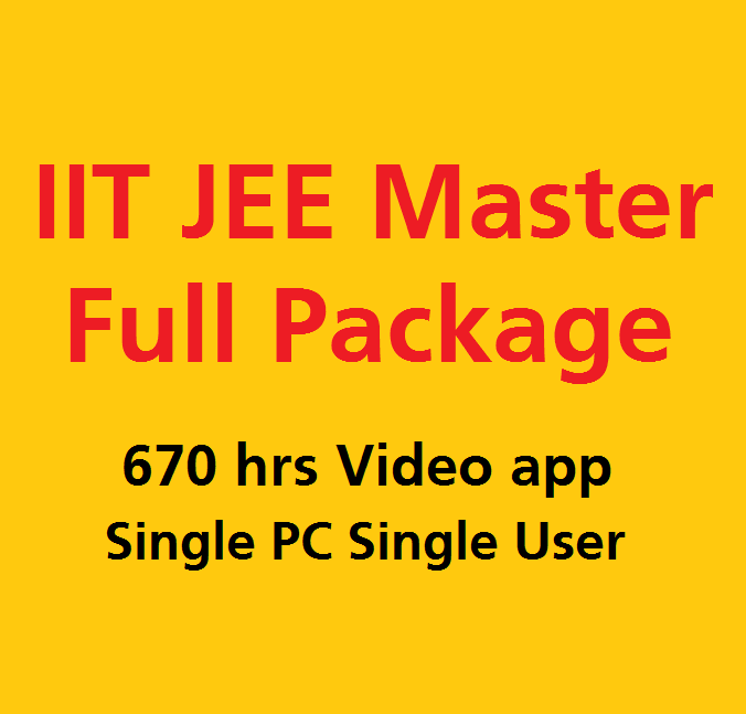 Full iit jee PCM video lectures starter