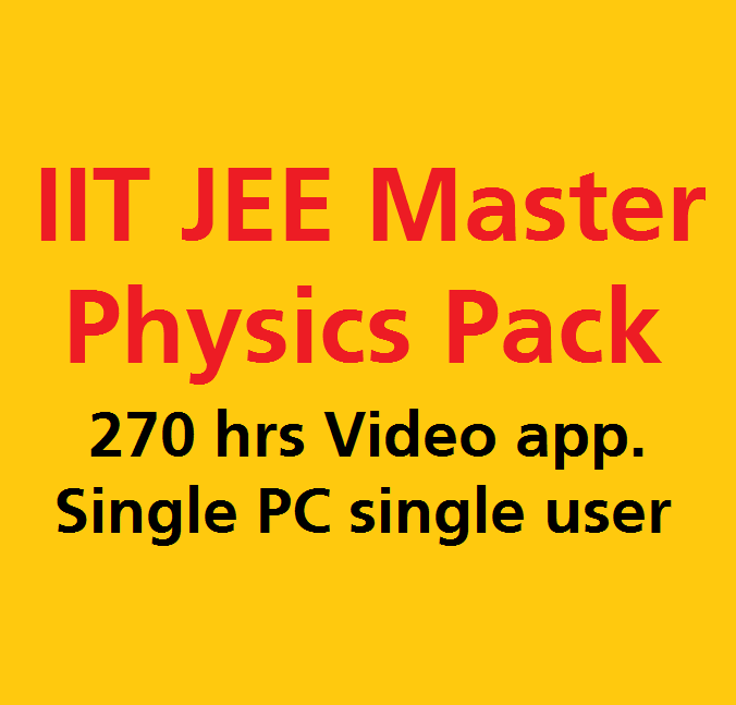 IIT JEE Physics Video Lecture Pack