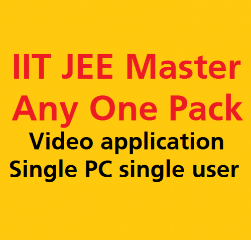 Single subject iit jee