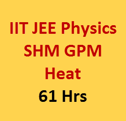 SHM GPM heat video lecture for iit jee
