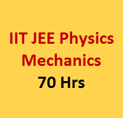 mechanics video lecture for iit jee