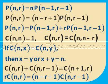 p and C formulae