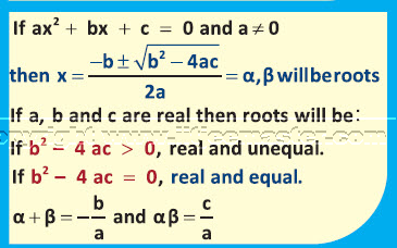 quadratic equation iit jee