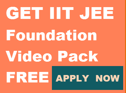 IIT JEE Foundation video lectures