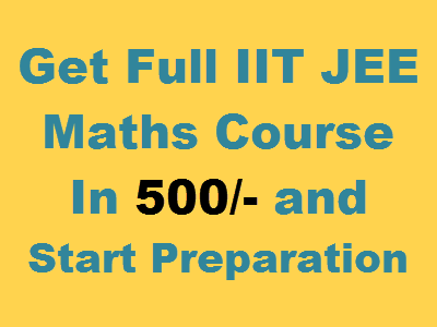 iit jee maths videos courses