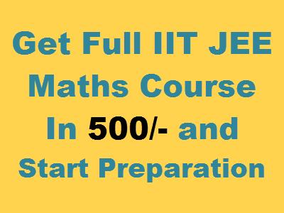 iit jee maths videos courses
