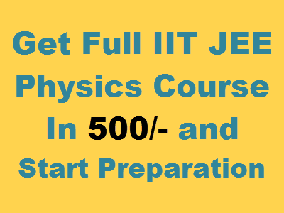 iit jee physics video lectures courses