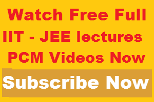 free iit jee video lectures