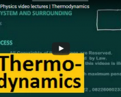 iit jee physics lectures on thermodynamics