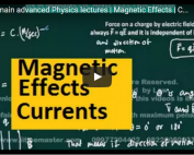 iit jee physics lectures on magnetism