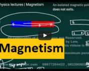 iit jee physics lecture on electrostatics