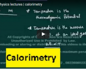 iit jee physics lectures on calorimetry