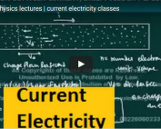 iit jee physics lectures on current electricity