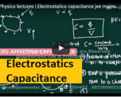 iit jee physics lectures on electrostatics