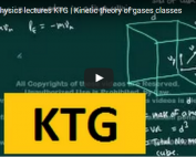 iit jee physics lectures on ktg