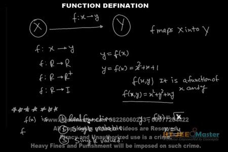Funtions iit jee video math