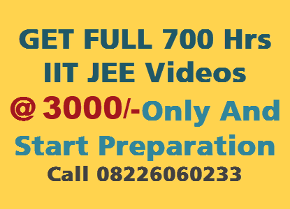 iit jee physics video lecture 3000