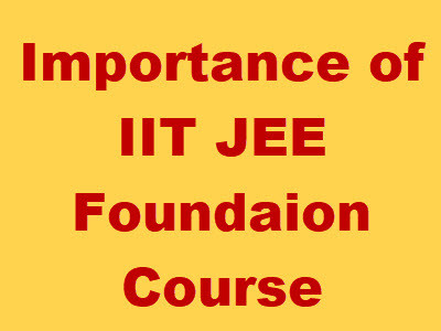 iit foundation course