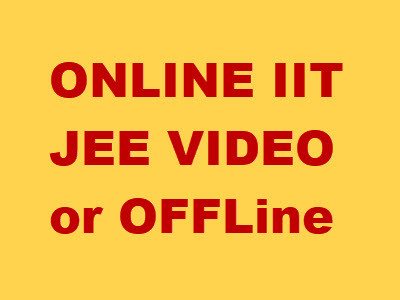 Online iit jee video lectures for jee mains advance